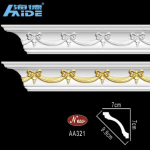 Polyurethane Decorative Cornices PU Moulding (AA321) pictures & photos