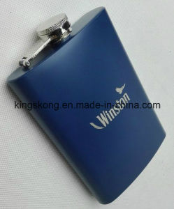 Customer Logo 6oz Stainless Steel Hip Flask pictures & photos