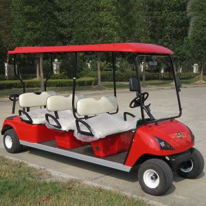 Ce Approved 6 Seat Golf Cart for Sale Dg-C6 China Supplier pictures & photos