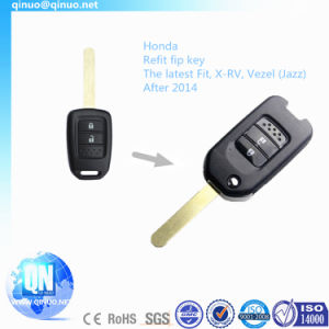 Remote Key for The Latest Honda Jazz Fit and X-RV After 2014 pictures & photos