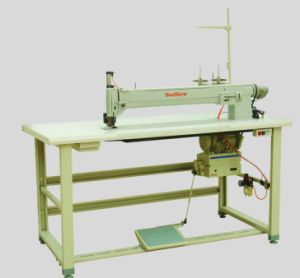 Jq Long Arm Zigzag Label Sewing Machine pictures & photos
