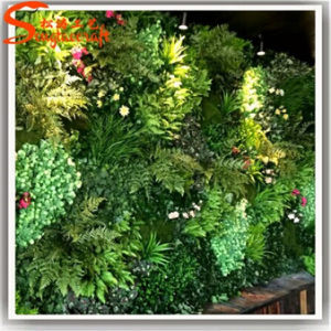 High Quality Decoration Artificial Green Grass Wall pictures & photos