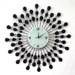 Peacock Metal Clock Decorative Wall Clock Meta Clock pictures & photos