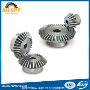 China Manufacturer Industrial Steel Straight Bevel Gears pictures & photos