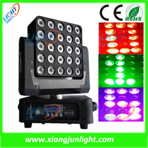 25X12W Matrix LED Moving Head Lighting pictures & photos