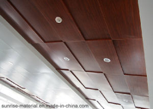 Aluminium Profile for Wood Grain Curtain Wall Veneer pictures & photos