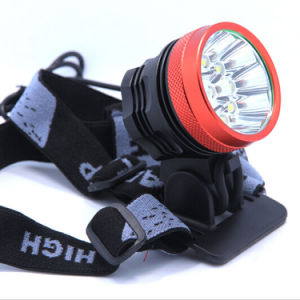 Waterproof 18000lm Max Cool White Long Shot Xml 10 LED CREE T6 Bike Light pictures & photos