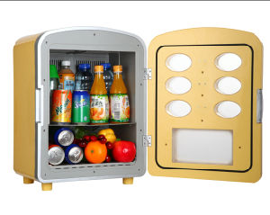 Electronic Mini Fridge 26liter DC12V with AC Adaptor (100-240V) for Cooling Purpose pictures & photos