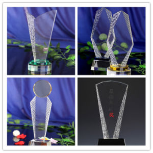 Promotional Gift Company Celebration Trophy Award Crystal Trophy pictures & photos