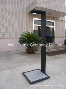 Rattan Garden Furniture / Outdoor Rattan Wicker Shower pictures & photos