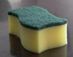 Green Color Scouring Pad for Cleaning, Widely Use pictures & photos