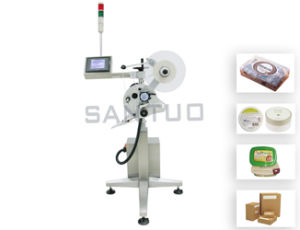 Carton Automatic Labeling Machine (top or side) /Labeler pictures & photos