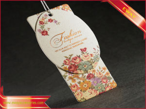 Hangtag Paper Tag Garment Tag for Garment (PP-HT-59) pictures & photos