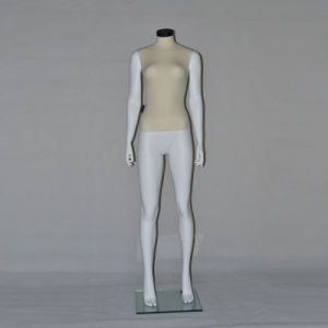 Velvet Wrapped Headless Women Mannequin for Sportwear Display pictures & photos