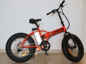 20inch 48V500W Folding Fat Electric Bike (LMTDR-03L-2) pictures & photos