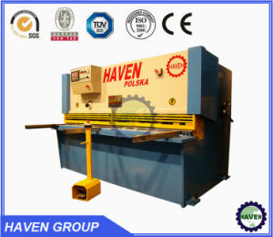 Hydraulic Guillotine Steel Plate Shearing and Cutting Machine QC11Y 6X6000 pictures & photos