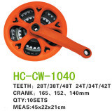 Color Chain Wheel Crank Hc-Cw-1040 pictures & photos