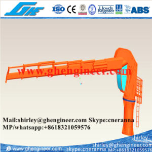 3t@8m Folding Boom Marine Deck Offshore Crane pictures & photos