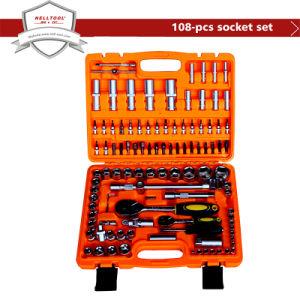 Chrome Vanadium Steel Socket Tool Set 108-PCS
