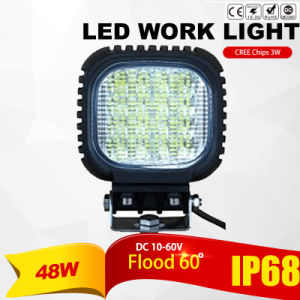 Flood 48W CREE LED Work Light (4200lm, IP68 Waterproof) pictures & photos