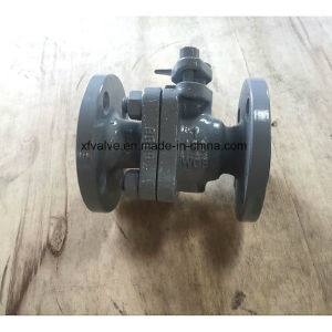 150lb Cast Steel Wcb Floating Type Flange End Ball Valve pictures & photos