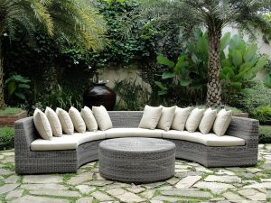 Hotsale Leisure Patio Rattan Sofa pictures & photos
