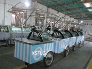 Ice Cream Gelato Push Carts for Sale pictures & photos