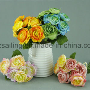 8 Heads Decorative Ranunculus Bouquet Artificial Flower (SF12498/8)