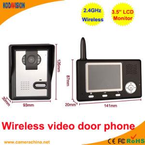 3.5 Inch LCD Wireless Video Door Phone pictures & photos