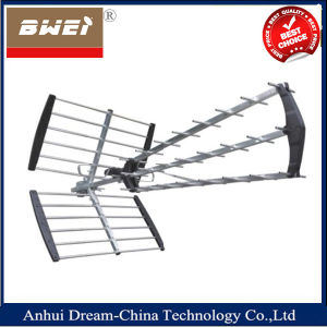 Yagi High Gain Passive Triple UHF Outdoor TV Antenna pictures & photos