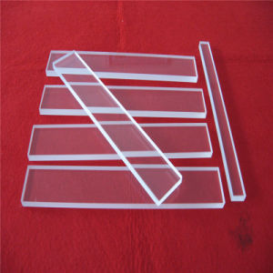 Polished Clear Quartz Glass Sheet Supplier pictures & photos
