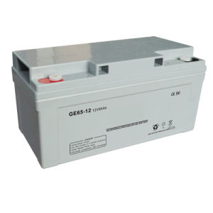 Green Energy 12V100ah Deep Cycle Gel AGM Sealed Lead Acid Battery pictures & photos