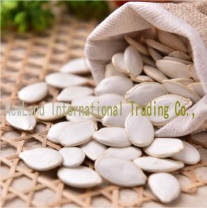 Export to Europe Snow White Green Pumpkin Seeds 13cm/14cm pictures & photos