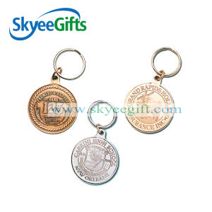 Custom Die Cast Peronalized Metal Trolley Coin pictures & photos