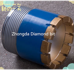 Impregnated Diamond Core Drill Bits with High Quality Synthetic Diamonds and High Working Performance
