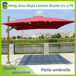 10FT Outdoor Patio Cantilever Offset Umbrella with Stand pictures & photos
