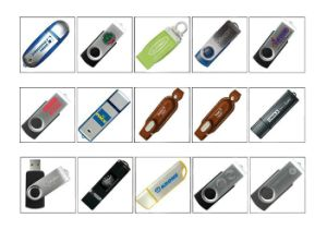Wholesale Giftsthe New Rotation USB Flash Drive pictures & photos