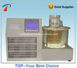 Astmd445 Compressor Condenser Equipped Lubricating Oil Capillary Viscometer (VST-3000) pictures & photos