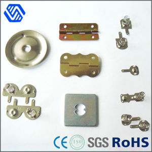 Door Metal Clamps Stamping Parts with Spring Nuts pictures & photos