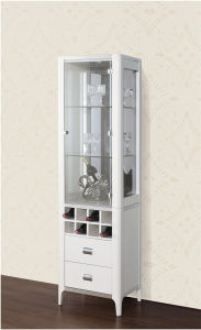 One -Door Glass European Wine Cabinet (JG-198B) pictures & photos