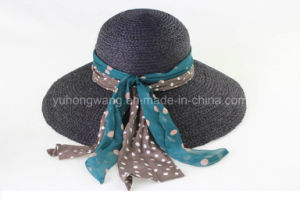 Hot Sale Lady Straw Hat, Summer Sports Baseball Cap pictures & photos