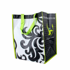 Personalized Non Woven Shoppers Tote Bags (LJ-376)