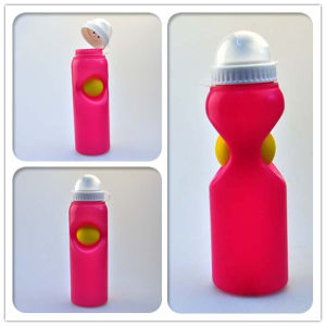 500ml Plastic Fashion Design Sport Water Bottle with Ball and Dust Cover pictures & photos