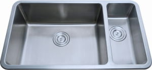Stainless Steel Kitchen Sink, Doulbe Bowl (D02) pictures & photos