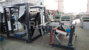DHL Plastic Express (mail) Bag Making Machine with Pocket pictures & photos