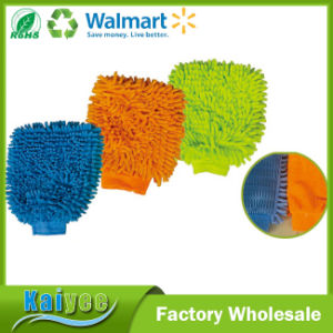 Large One Side Car Wash Cleaning Chenille Sponge pictures & photos