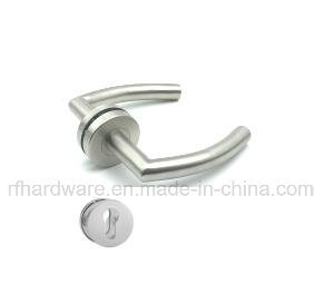 Stainless Tube Level Door Handle (RL009) pictures & photos