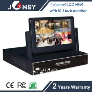 NVR-6204b Joneytech 4 Channel LCD NVR with 7 Inch LCD Monitor pictures & photos