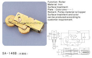 Copper Roller for Sliding Window and Door/ Hardware (SA-146B) pictures & photos