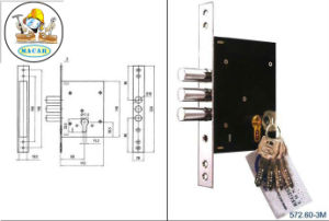 Hot Sale! ! Mortise Door Handle Wooden Lock Body pictures & photos